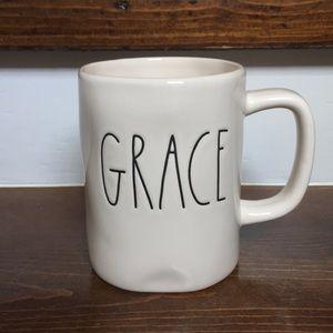 "Rae Dunn ""grace"" mug"
