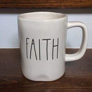 """Rae Dunn """"faith """" mug"""