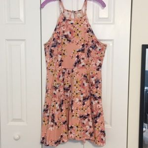 Mossimo Pink Floral Dress