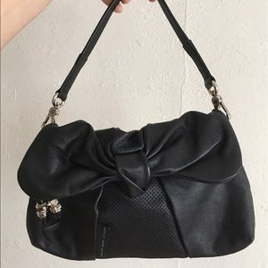 Black leather Marc By Marc Jacobs purse