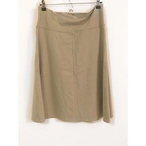 Athleta A line skirt size large