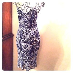 Blue and white summery Ralph Lauren dress
