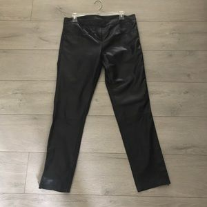 Pants - Genuine leather trousers - Unworn