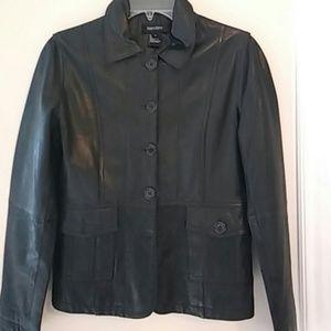 Karen kane leather jacket