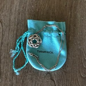 Tiffany & Co. Knotted Necklace in Sterling Silver