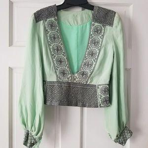 Stunning silk vintage blouse