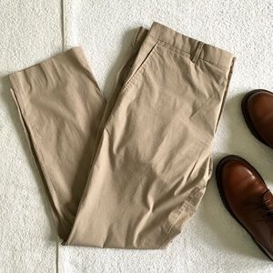 Theory Lightweight Cotton Stretch Pants