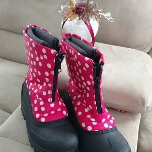 Girls Itasca snow boots