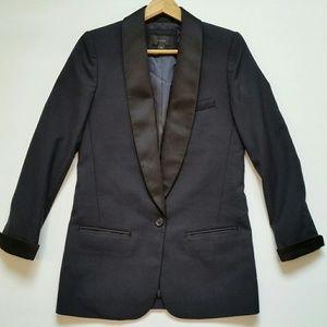 J. Crew Collection Shawl  Collar Tuxedo Blazer 00