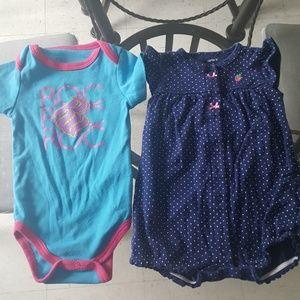 3-6 months Babygirl Onesies