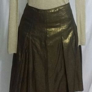 BCBG Metallic Skirt