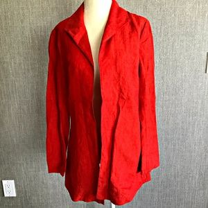 { Coldwater Creek } NWOT Lightweight Linen Jacket