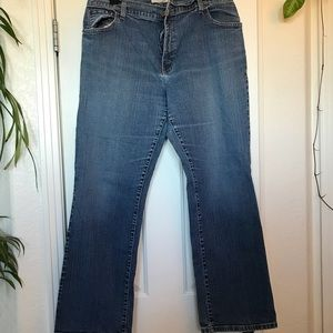 16M Women's Levi's Jeans 550 Relaxed Bootcut 16