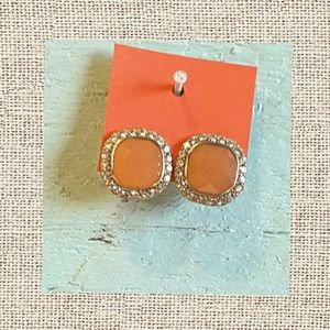 Jewelry - Coral stud post earrings
