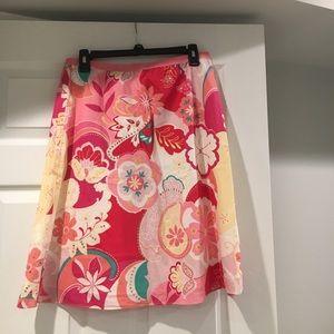 light cotton summery skirt