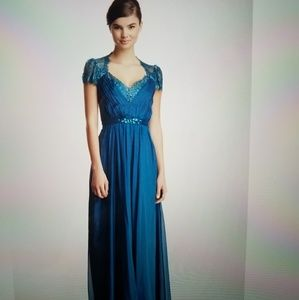 NWT, gorgeous teal gown