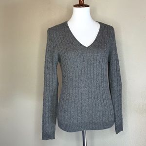 {j. Crew} Cray Cable Knitted Sweater