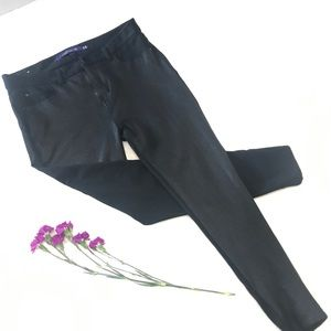 Pants - Shiny Black Legging