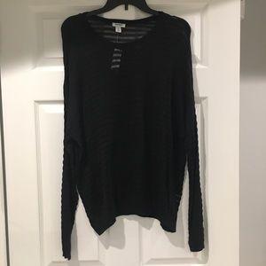 very light cotton sweater