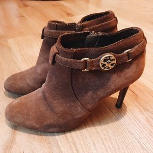Coach Suede Ankle Booties US 6.5