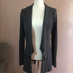 WHBM - Gray cardigan