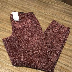 Pink Glitter pants!!!