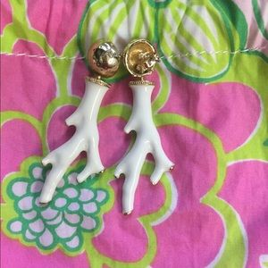 Lilly Pulitzer Coral Earrings
