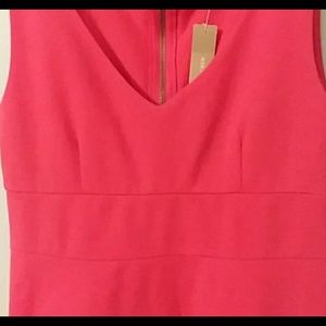 J. Crew Red Suiting Dress Size 6