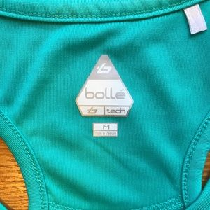 Bolle Tops - Bolle Tennis Racer Back Workout Tank Top. Size M