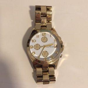 Marc Jacobs gold women's watch