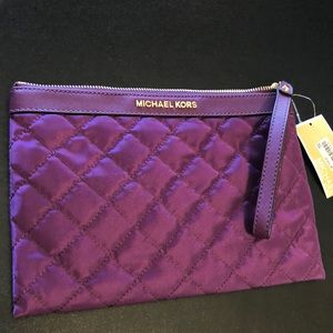 Brand new Michael Kors wristlet clutch
