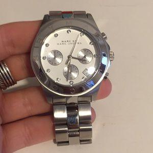 Marc Jacobs silver women's watch