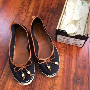 St. John's Bay Loafers Espadrilles Size 7.5