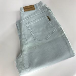 Light Blue Coldwater Creek High Rose Jeans