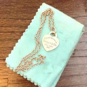 100% authentic Tiffany's necklace