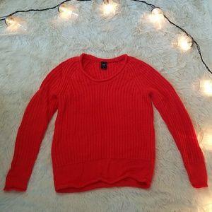 Orange Pop GAP Sweater XS
