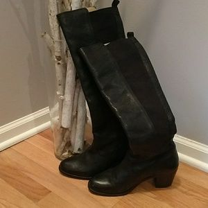 Frye Boots Size 7 Black Tall