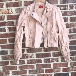 Pale Pink Bomber jacket