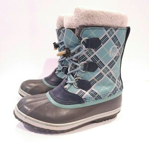 Sorel youth size 7 pac boot duck boot