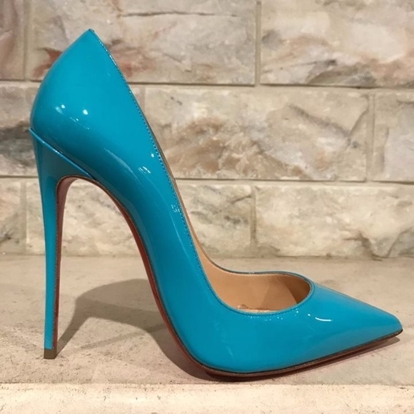 c1ce9277085e Christian Louboutin So Kate 120 Blue Pacific Neon