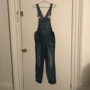 Denim overalls Madewell size small