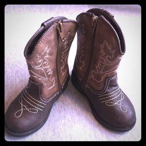 NWOT Girls cowboy boots size 6