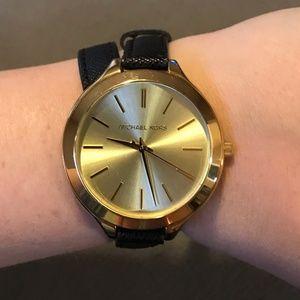 Michael Kors Slim Runway Double Wrap Watch