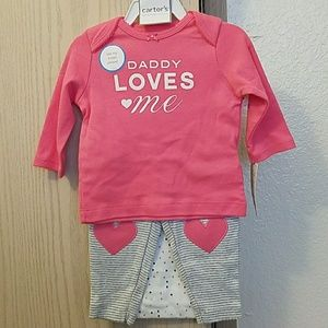Little baby basics 3 piece set outfit