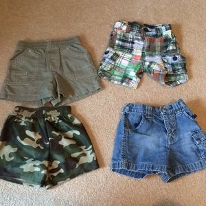 Boys 6-12mo shorts old navy, gap