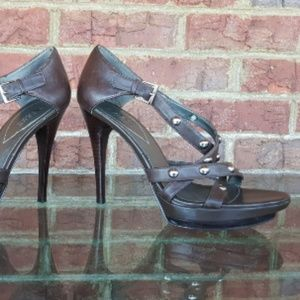 Vintage 90s Guess Strappy Stiletto Heels