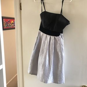 Max and Cleo strapless cocktail dress