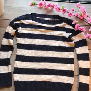 Gap | Sweater | Blue & White Stripes | Small