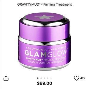💜Brand new full size GLAMGLOW purple GRAVITYMUD