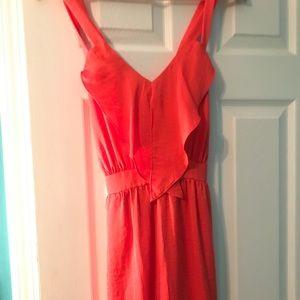 Bcbgeneration orange dress